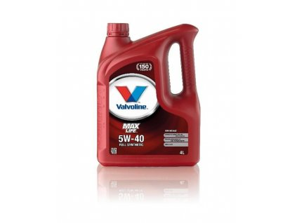 Valvoline MaxLife Synthetic 5W-40, 4L