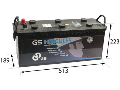 Startovací baterie GS GS Cargo Heavy Duty Battery GS-627HD