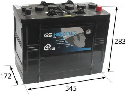 Startovací baterie GS GS Cargo Heavy Duty Battery GS-655HD