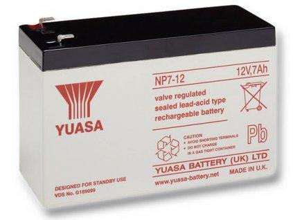 Startovací baterie YUASA Auxilliary, Backup & Specialist Batteries NP7-12