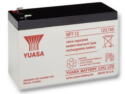 Startovací baterie YUASA Auxilliary, Backup & Specialist Batteries NP7-12