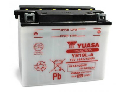 Startovací baterie YUASA YuMicron YB18L-A