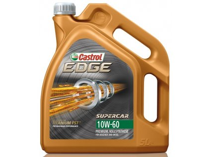 Castrol Edge Titanium FST Supercar 10W-60 5L