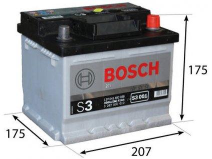 Startovací baterie BOSCH S3 0 092 S30 010