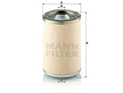 Palivový filtr MANN-FILTER BF 1018/1