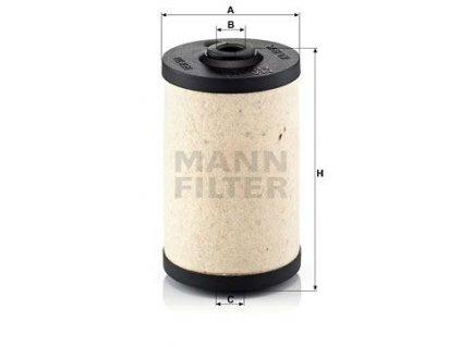 Palivový filtr MANN-FILTER BFU 700 x
