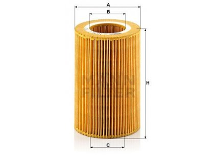 Vzduchový filtr MANN-FILTER C 1036/1