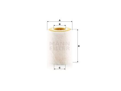 Vzduchový filtr MANN-FILTER C 1036/2