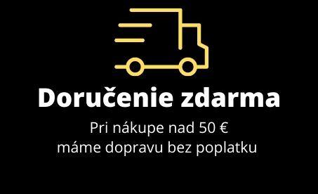 Doprava zdarma pri nákupe nad 50€