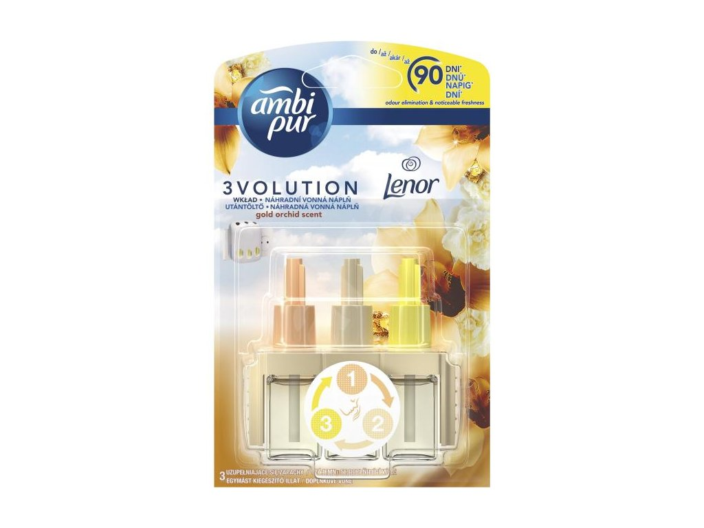 Ambi Pur 3Volution náplň do osviežovača 20ml Gold Orchidea