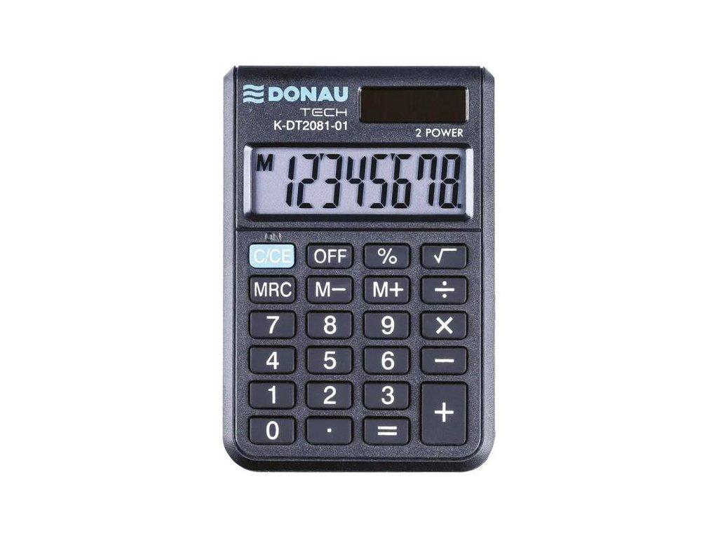 Kalkulačka Donau Tech K-DT2081 čierna