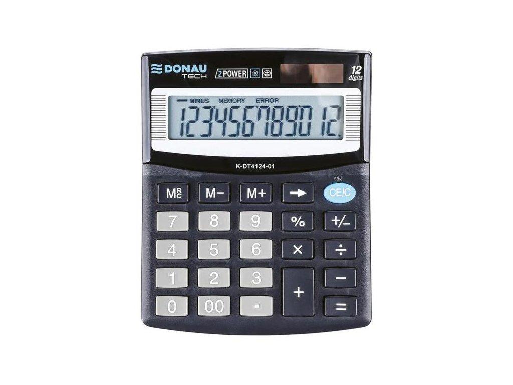 Kalkulačka Donau Tech K-DT4124 čierna