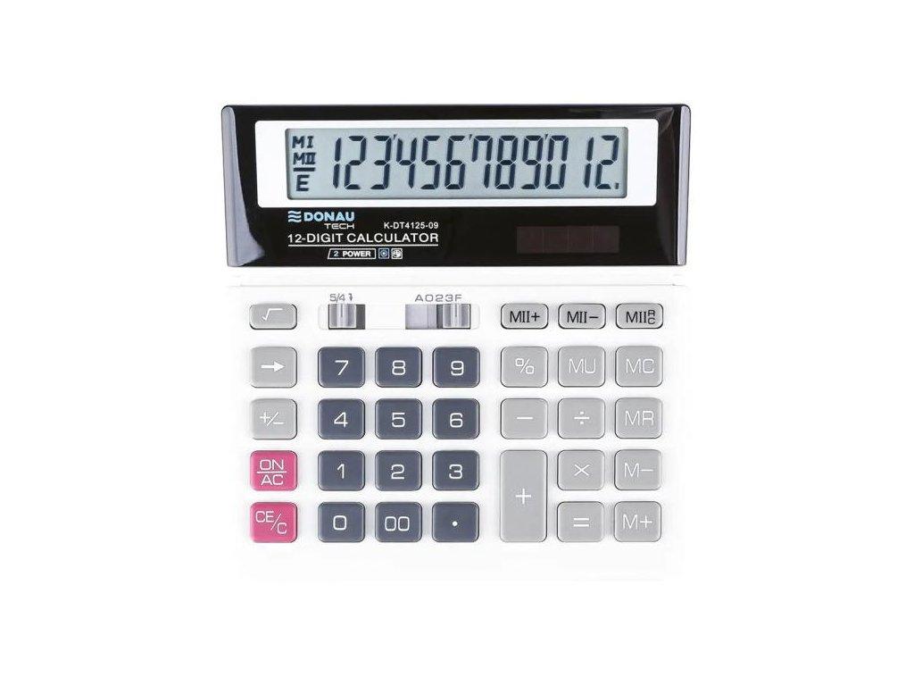 Kalkulačka Donau Tech K-DT4125 biela