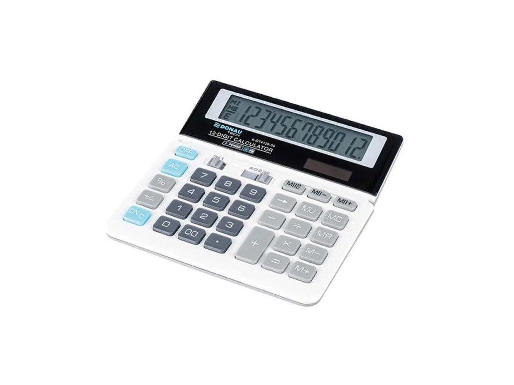 Kalkulačka Donau Tech K-DT4126 biela