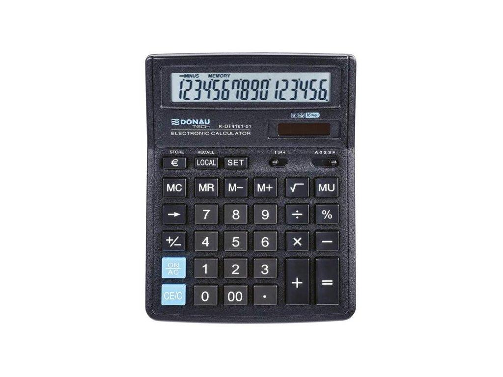 Kalkulačka Donau Tech K-DT4161 čierna