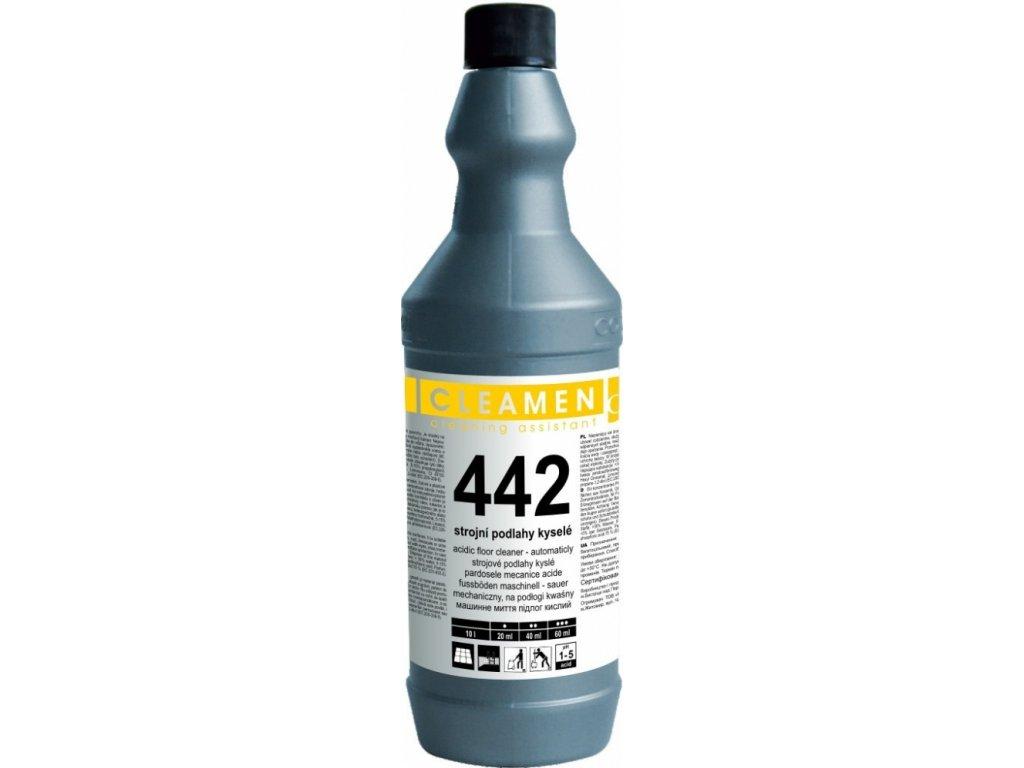 Cleamen 442 na podlahy kyslé 1l (Objem 750ml)