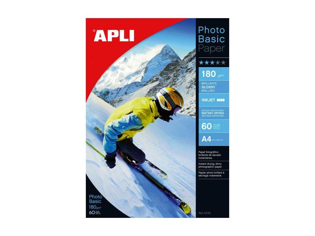 Fotopapier APLI A4 Photobasic lesklý180g 20 hárkov