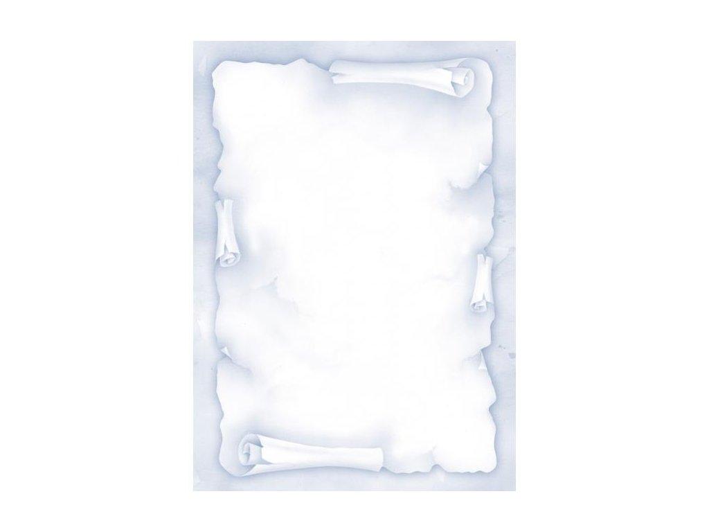 Ilustračný papier Ambassador modrá 90g 20 hárkov