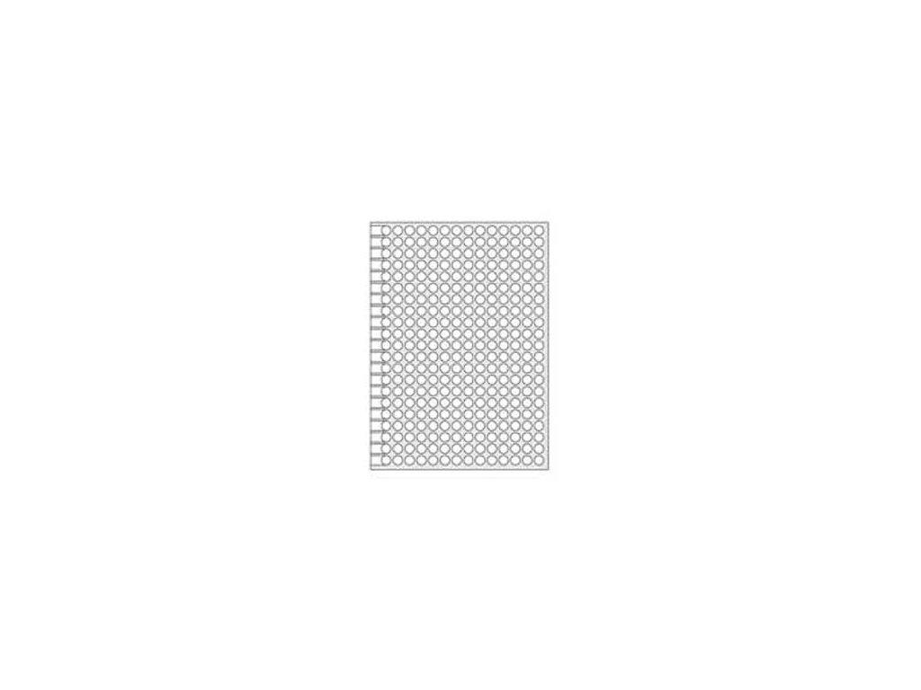 Etikety kruhové 8mm Agipa A5 biele