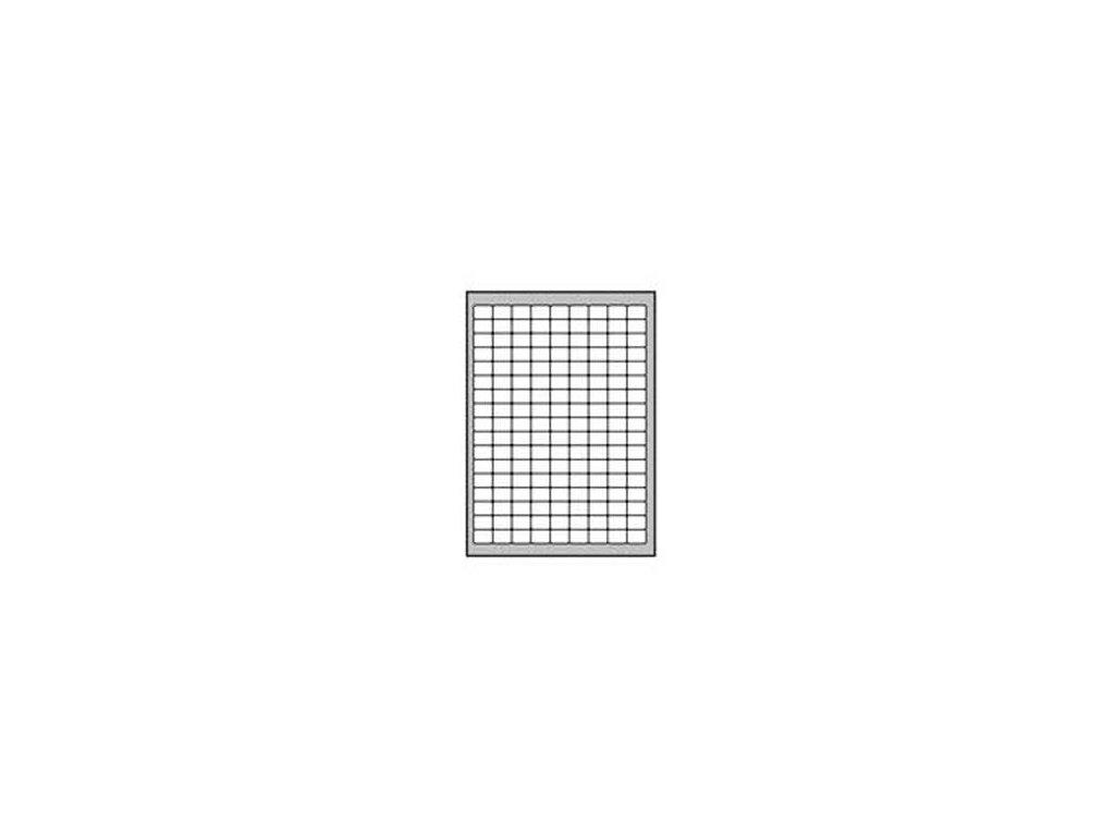 Etikety univerzálne odnímateľné 22x16mm Agipa A4 25 hárkov