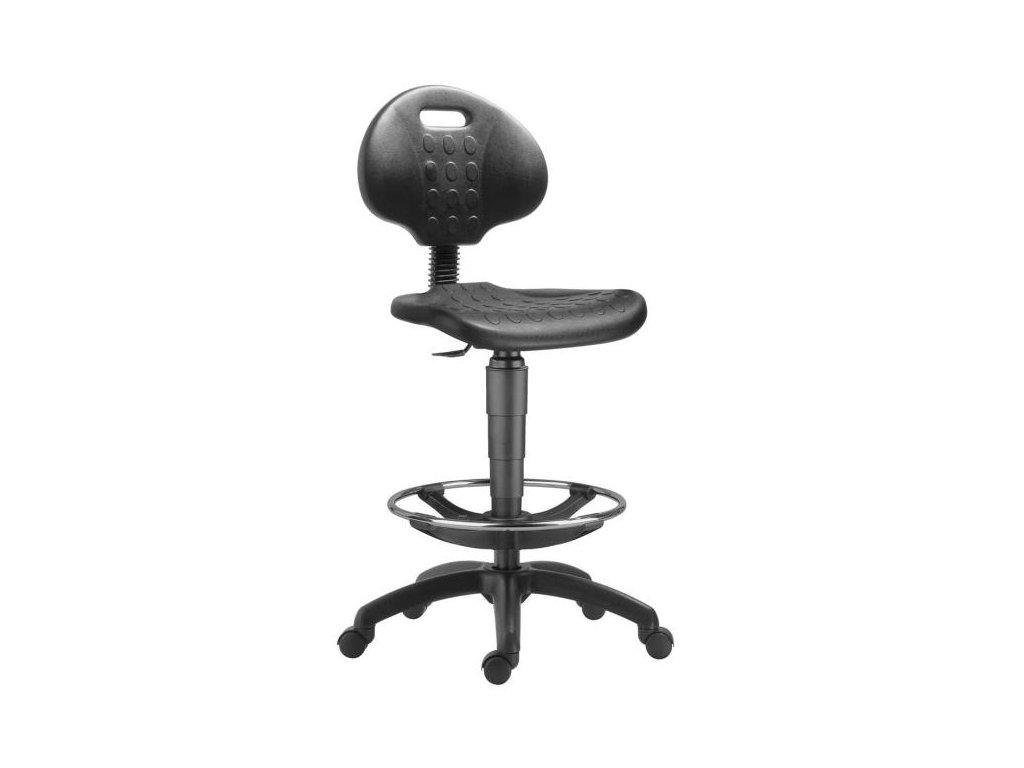 Pracovná stolička 1290 NOR s kruhom/Work Extra