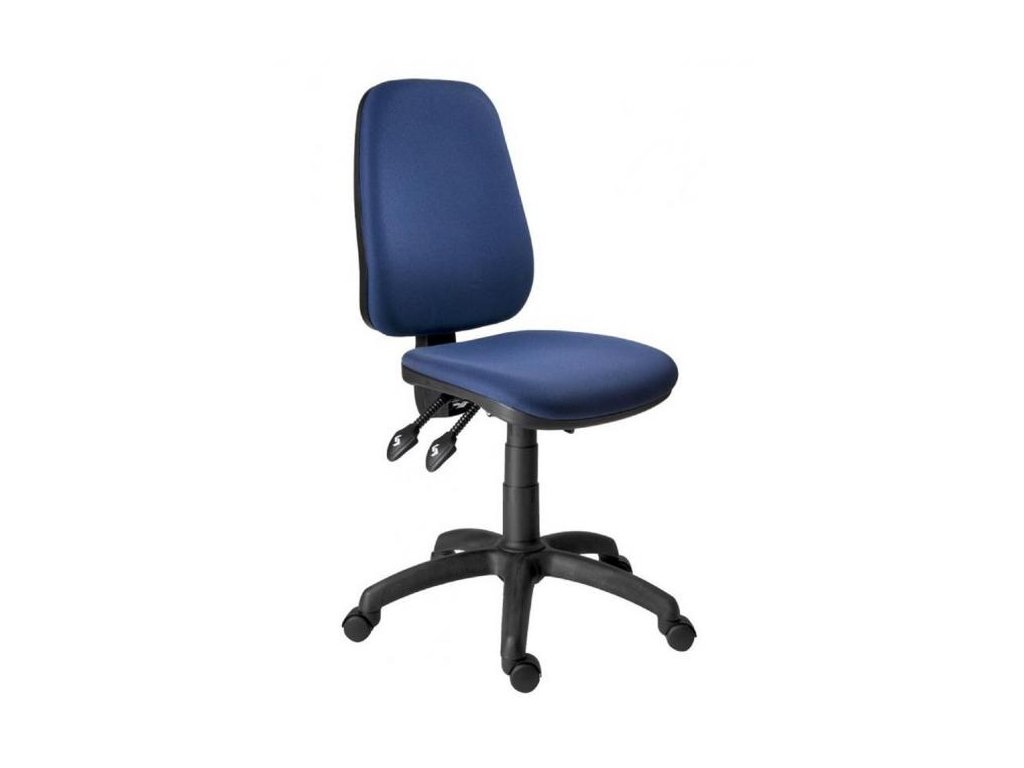 Kancelárska stolička 1540 ASYN modrá D4