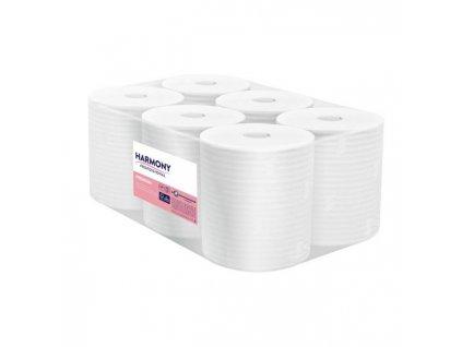Papierové utierky v rolke 2-vrstvové 100% celulóza Autocut 130m
