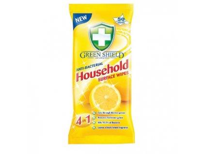 Green Shield čistiace utierky antibakteriálne 50 až 70ks