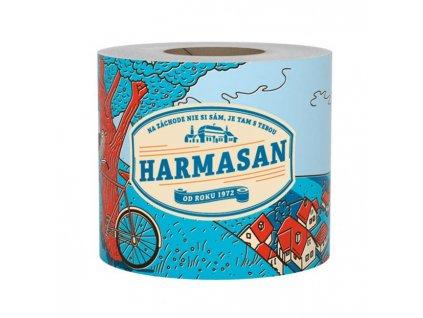 Toaletný papier 1-vrstvový HARMASAN farba prírodná