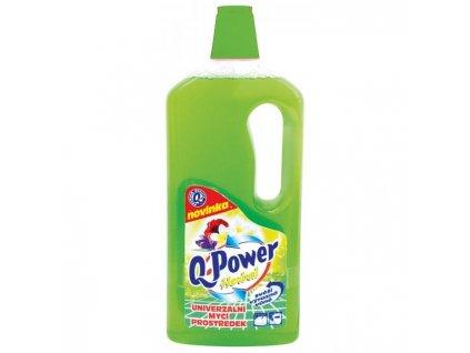 Q-Power UNI čistič na podlahy a povrchy 1l Herbal