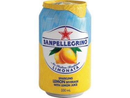 104006 sanpellegrino citron 330ml plechovka