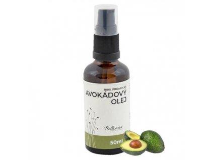 Avokádový olej 100% prírodný výrobok 50ml