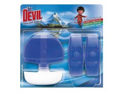 Dr. Devil WC záves gél 3 x 55ml Polar Aqua