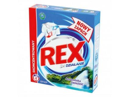 Rex prací prášok (4PD) Amazonia Biela 300g