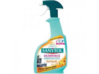 Sanytol KUCHYŇA odmasťovač s rozprašovačom 500ml