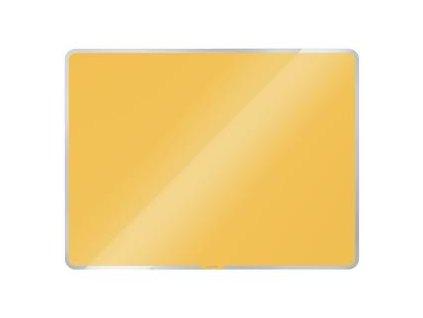 Magnetická tabuľa Leitz Cosy 45x45cm teplá žltá
