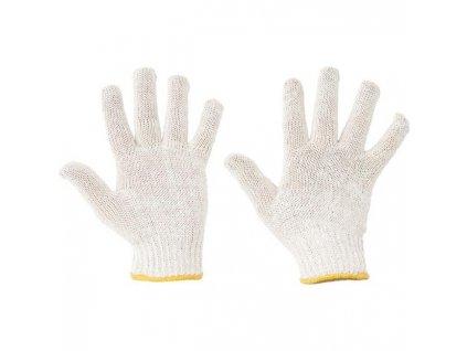 Rukavice pletené, bezšvové AUK, veľ. 10/XL