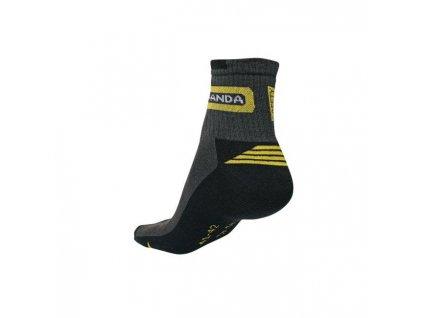 Ponožky WASAT PANDA čierne veľ. 37-38