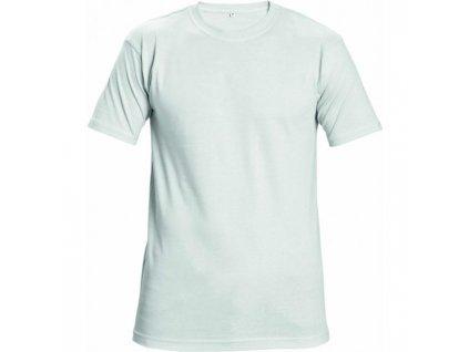 Tričko unisex TEESTA biele L