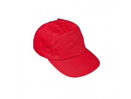 Čiapka baseballová LEO červená