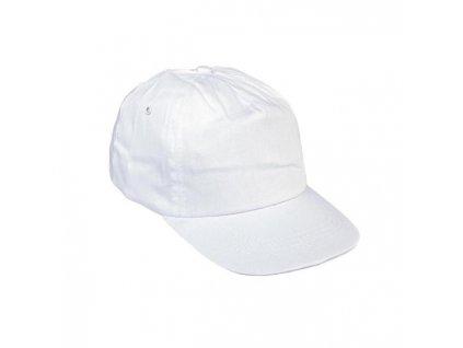 Čiapka baseballová LEO biela
