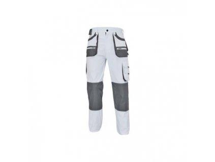 Nohavice do pása FF CARL BE-01-003 biela/sivá č.46