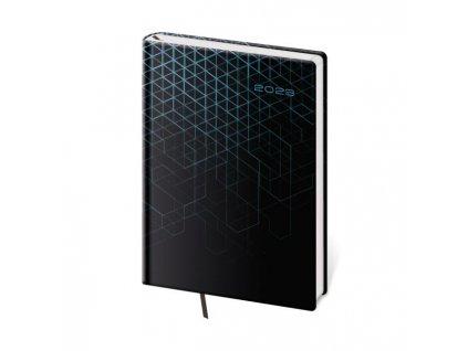 Diár Vario A5 denný Red 2022