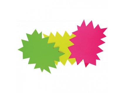 Popisovateľný farebný kartón ježko 8x12cm APLI mix ružová-zelená