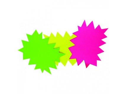 Popisovateľný farebný kartón ježko 16x24cm APLI mix ružová-zelená