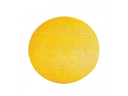 Podlahové značenie KRUH žlté 10ks