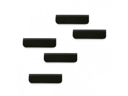 Samolepiaci magnetický klip DURAFIX CLIP 60 mm čierny
