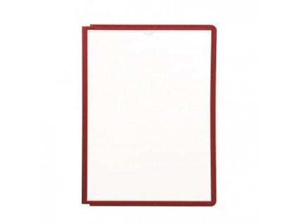 Katalógový panel SHERPA A4 červený