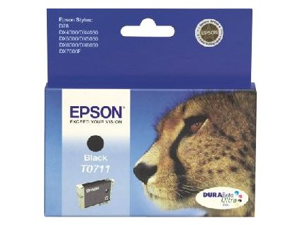 Atramentová náplň Epson T07114011 black pre D120/DX7400/7450/8400/8450/9400F (250 str.)