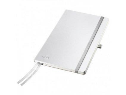 Zápisník linajkový A5 Leitz Style tvrdé dosky arkticky biely
